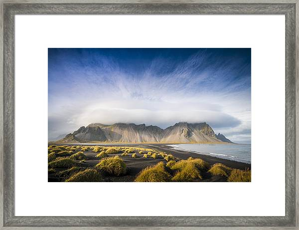 The Young Man Agreed Framed Print