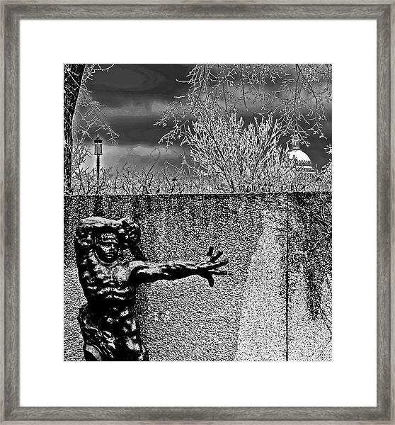 The Great Warrior Of Montauban Framed Print