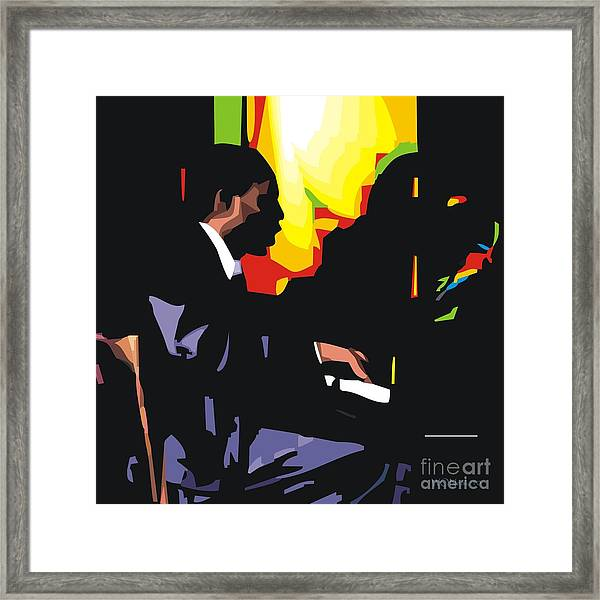 Thelonius Monk Framed Print