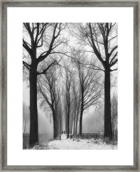 Then Winter Comes Framed Print