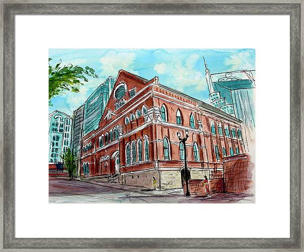 There Is A Ryman Reason Framed Print