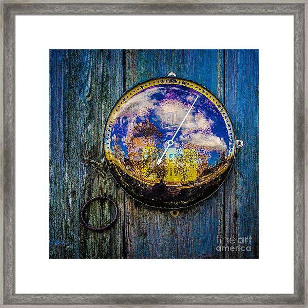 Thermometer Framed Print