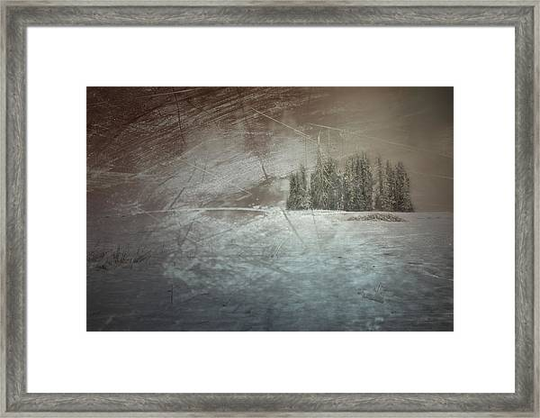 They Huddle Framed Print