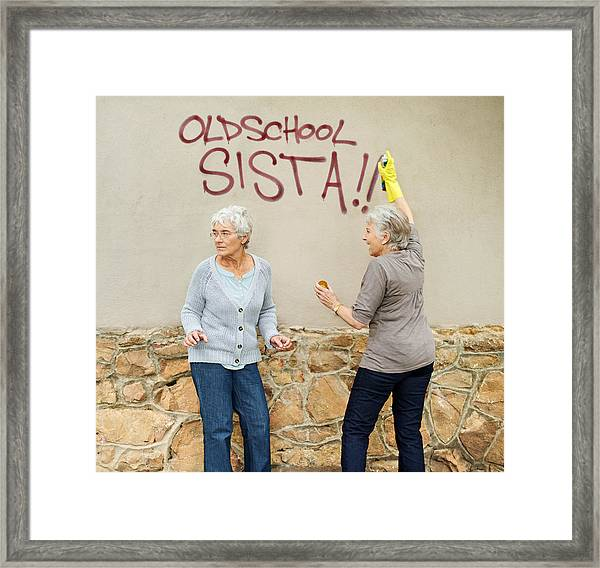 They've Got Street Cred! Framed Print by PeopleImages