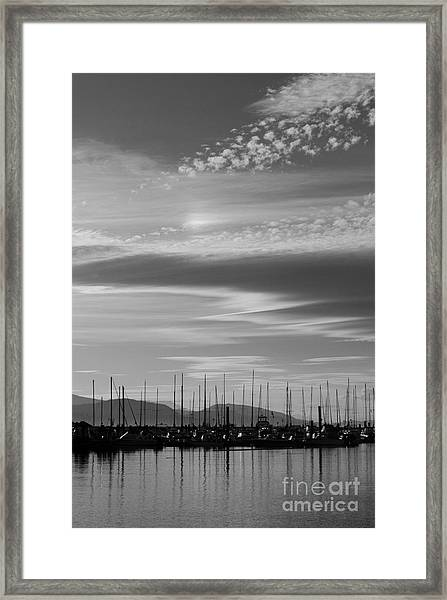 Thieves Bay Framed Print