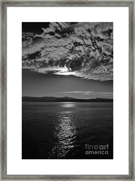 Thieves Bay View Framed Print