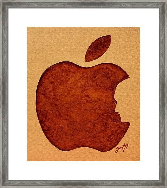 Think Different Steve Jobs 3 Framed Print
