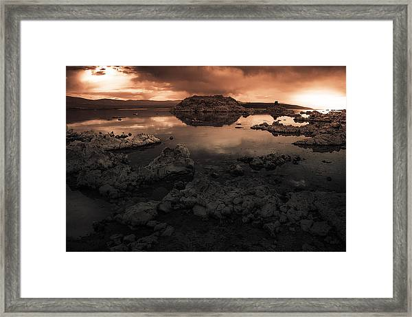 Third Rock From The Sun  Framed Print