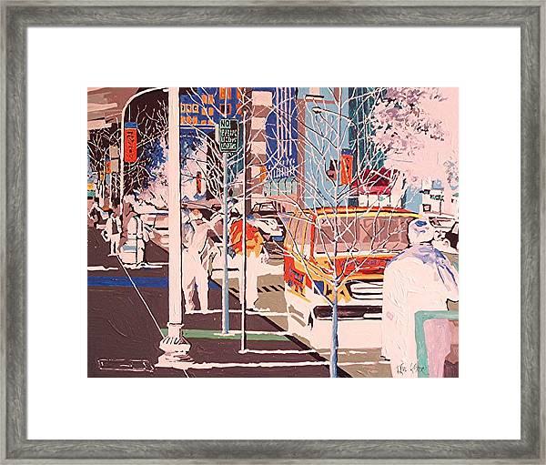 Thirteenth And J Framed Print by Paul Guyer
