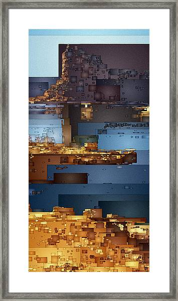 This Is Lake Powell Framed Print