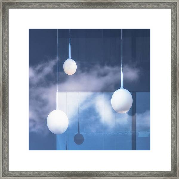 This Is Not An Illusion. Framed Print