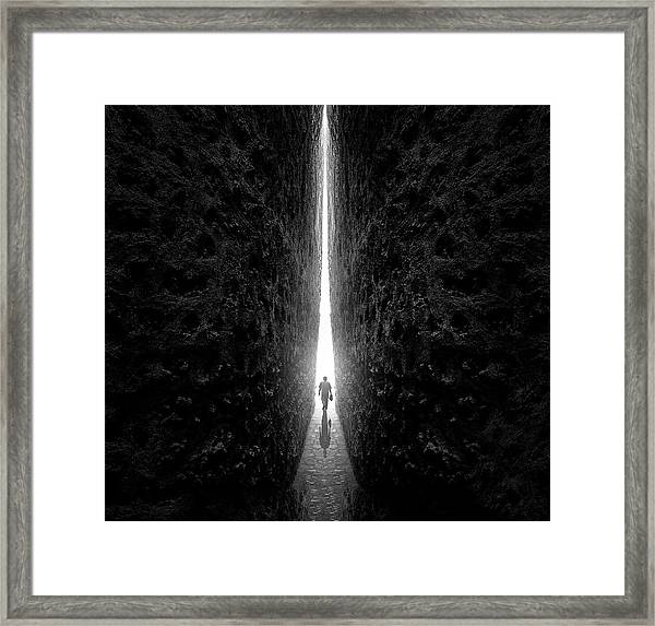 This Way Framed Print