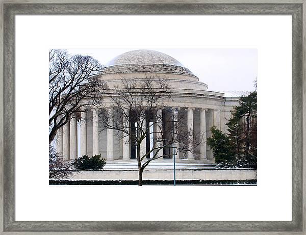 Thomas Jefferson Memorial Framed Print