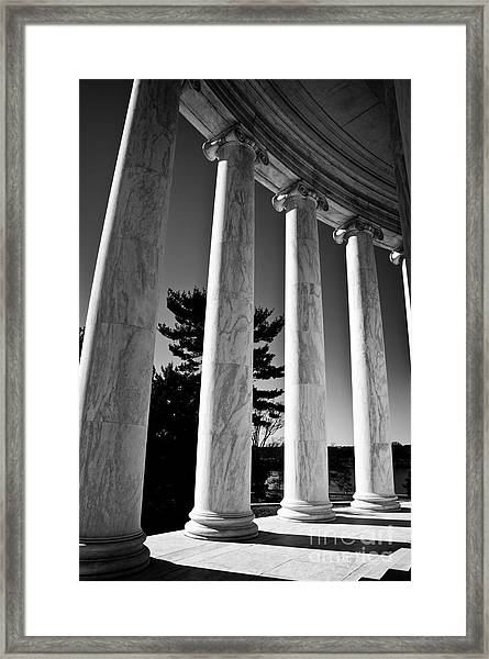 Thomas Jefferson Memorial Framed Print