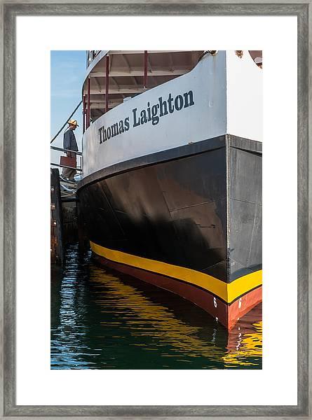 Thomas Laighton At Star Isle Framed Print