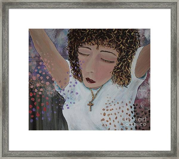 Thoughts Of Praise Framed Print