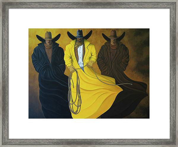 Three Brothers Framed Print