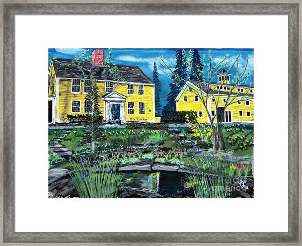 Three Chimneys Inn Framed Print