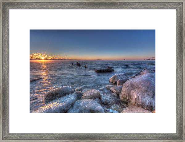 Three Degree Sunrise Framed Print