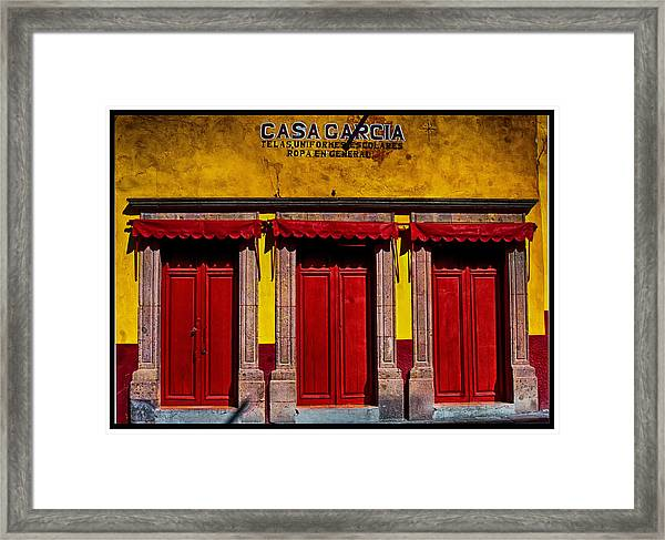 Three Doors Down Framed Print
