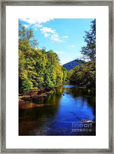 Three Forks Williams River Early Fall Framed Print