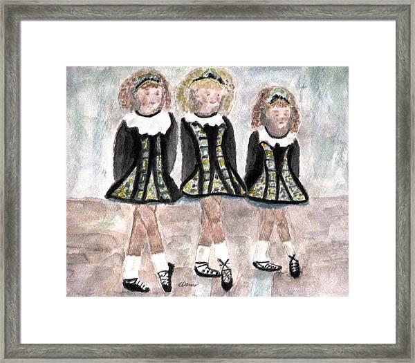 Three Irish Lasses Framed Print