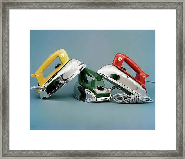 Three Irons By Casco Products Framed Print