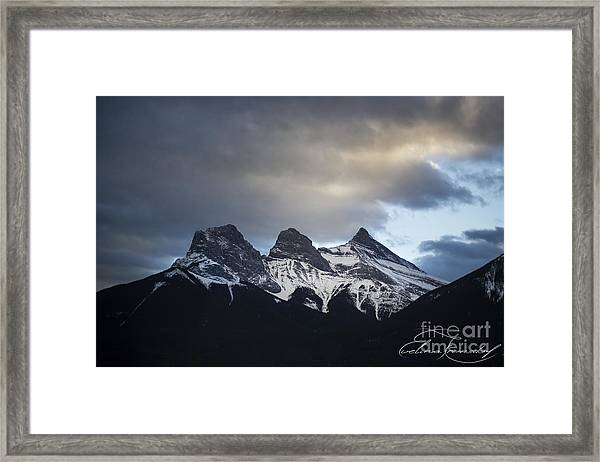 Three Sisters - Special Request Framed Print