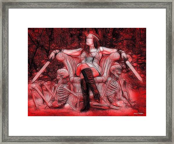 Throne Of Blood Framed Print