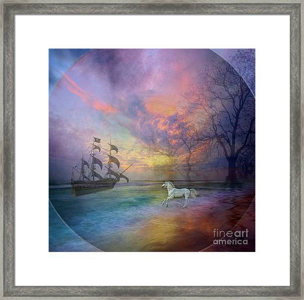 Through The Lense Of Past Framed Print