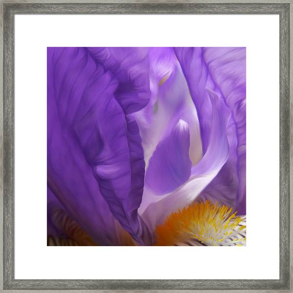 Thumbelina Dreaming Framed Print