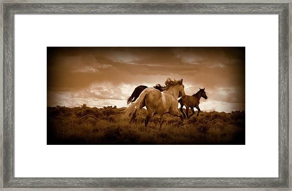 Thunder Road Framed Print