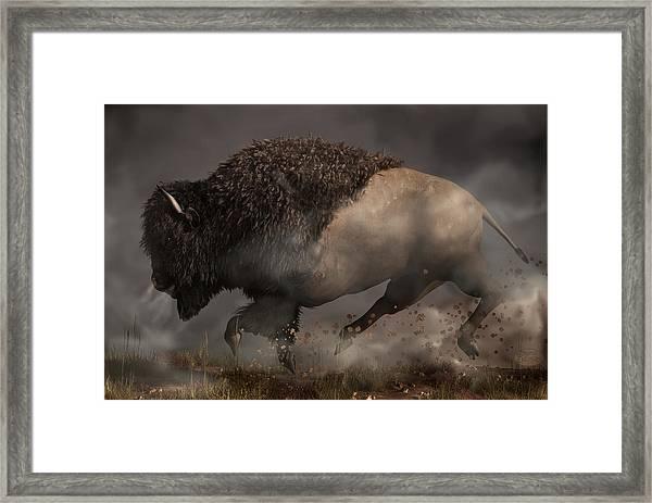 Thunderbeast Framed Print