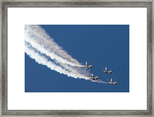 Thunderbird Loop Framed Print