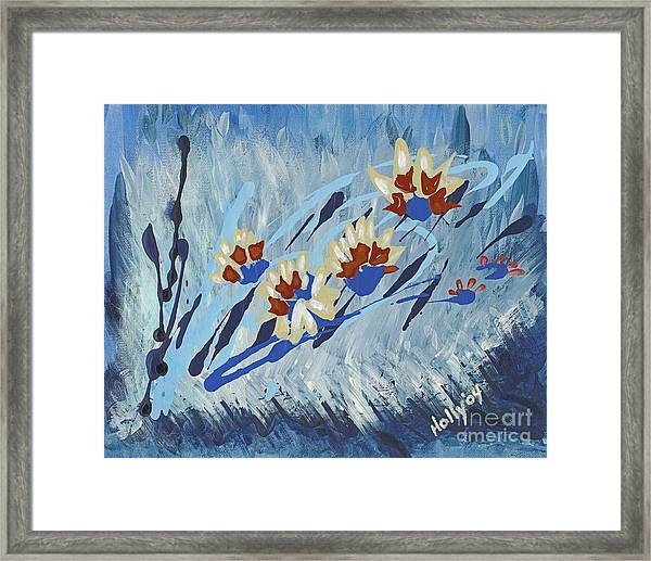 Thunderflowers Framed Print