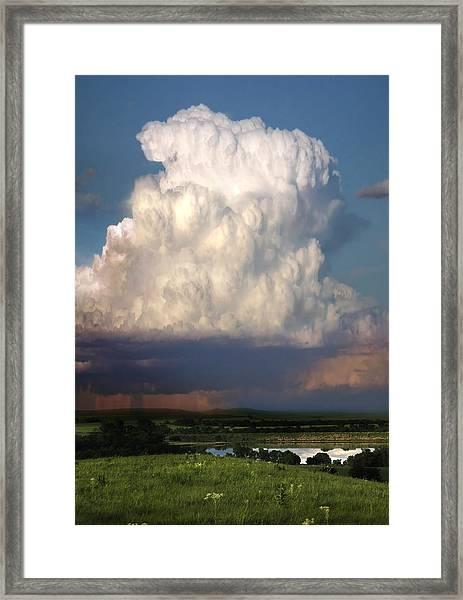 Thunderhead - Greenwood County Framed Print
