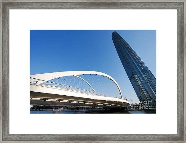 Tianjin City Framed Print