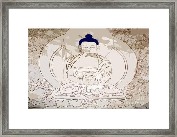 Tibet Buddha Framed Print