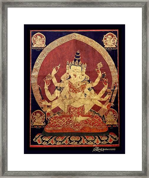 Tibetan Art Framed Print
