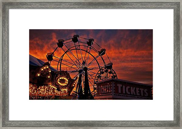 Tickets To Ride Framed Print