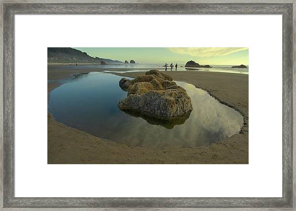 Tidepool Monolith Framed Print