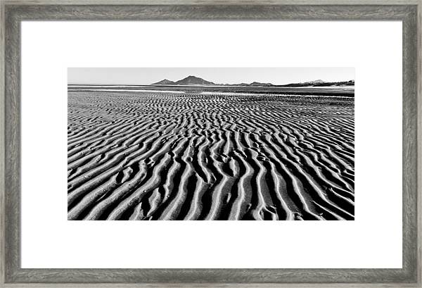 Tides Out Framed Print