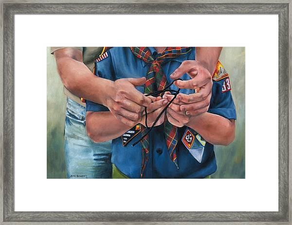Ties That Bind Framed Print