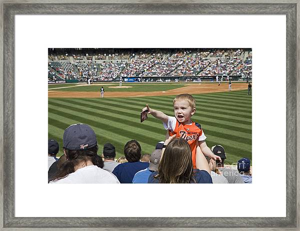 Tigers Fan Framed Print