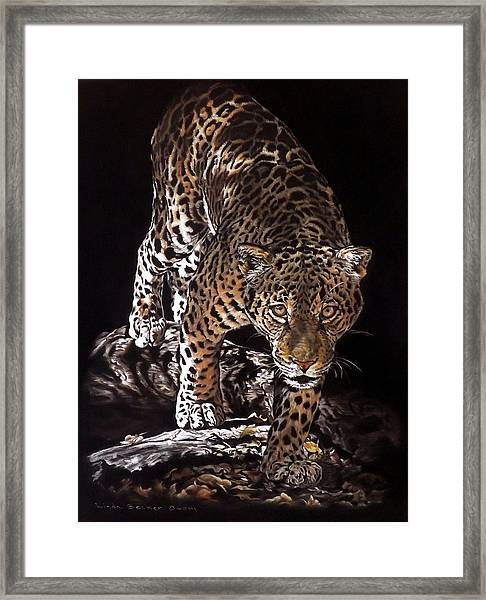 Tikal Out Of The Darkness Framed Print