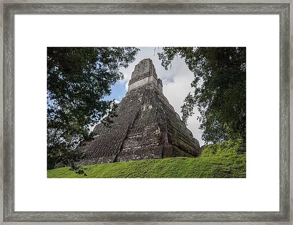 Tikal Pyramid 1b Framed Print