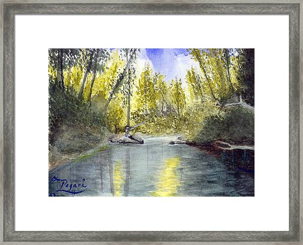 Tillamook Fishing Framed Print