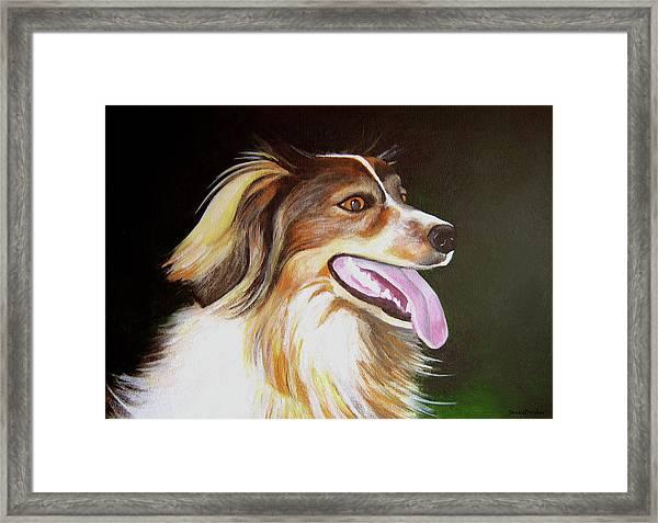Tillie Framed Print