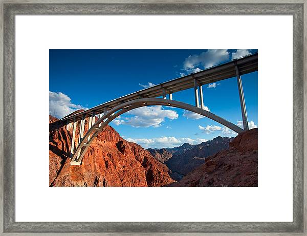 Tillman Bridge Framed Print