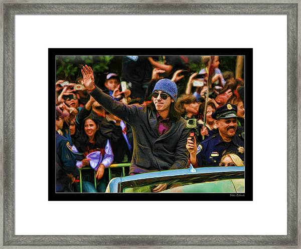 Tim Lincecum World Series 2012 Framed Print